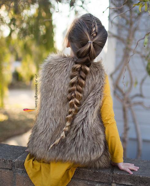 پرطرفدارترين مدل بافت مو 2018 براي دخترخانم هاي جوان - مدل شماره 9