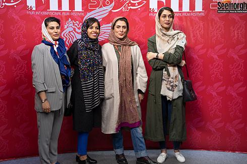بهناز جعفری و هنرمندان در جشنواره جهانی فجر