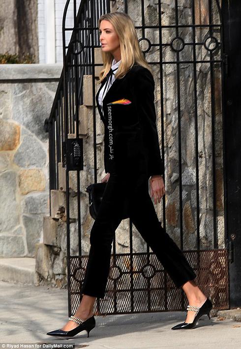 ست کردن کت و شلوار به سبک ایوانکا ترامپ Ivanka Trump - عکس شماره 8