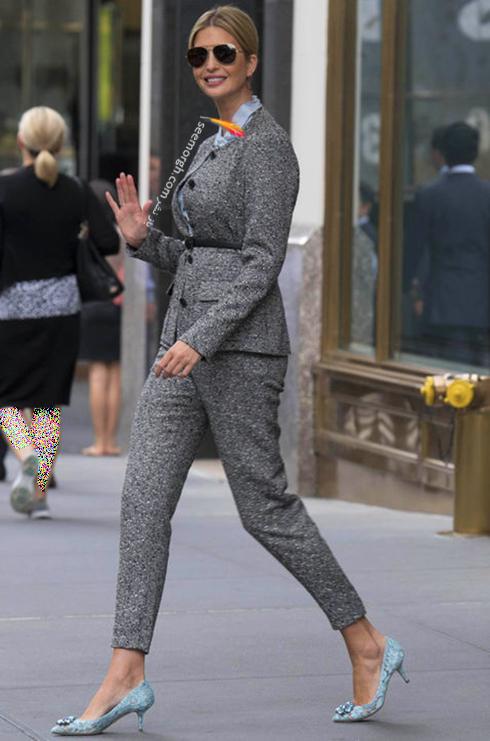 ست کردن کت و شلوار به سبک ایوانکا ترامپ Ivanka Trump - عکس شماره 6