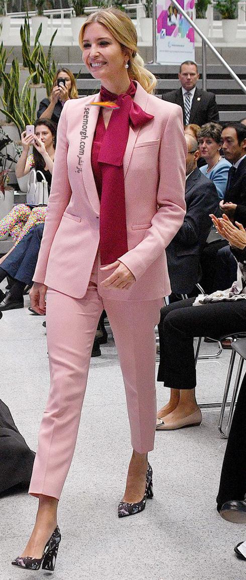 ست کردن کت و شلوار به سبک ایوانکا ترامپ Ivanka Trump - عکس شماره 5