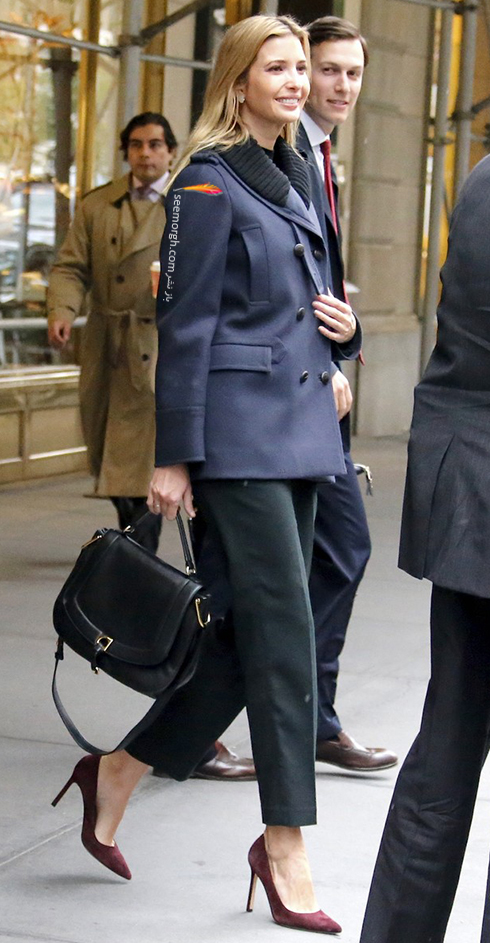 ست کردن کت و شلوار به سبک ایوانکا ترامپ Ivanka Trump - عکس شماره 4