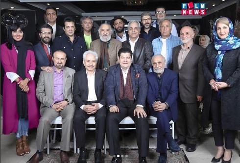 تولد مهران مدیری با حضور جمعی از هنرمندان
