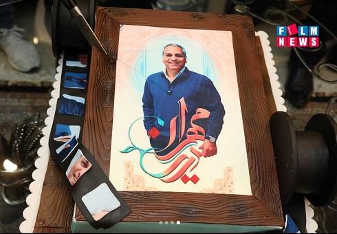 کیک تولد مهران مدیری