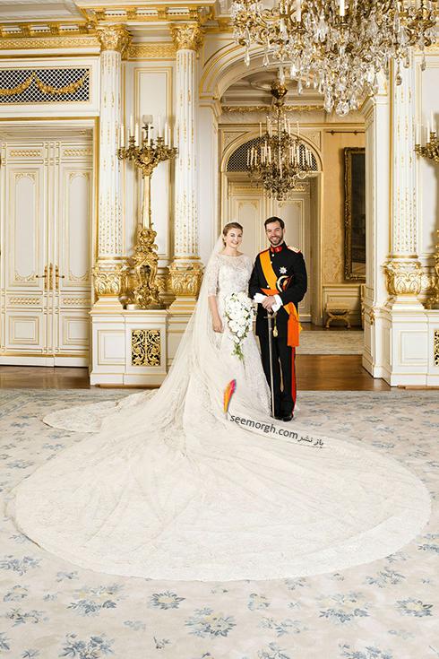پرنس Guillaume و پرنسس استفانی Stéphanie از لوکزامبورگ
