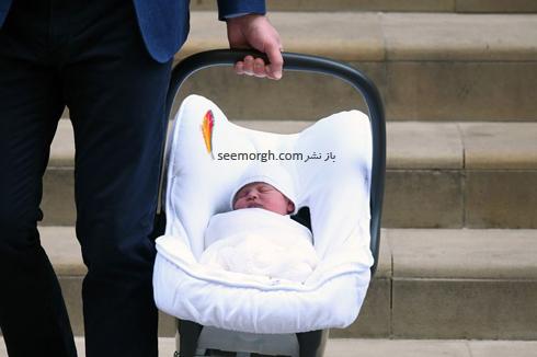 فرزند سوم کیت میدلتون Kate Middleton و پرنس ویلیام William - عکس شماره 1