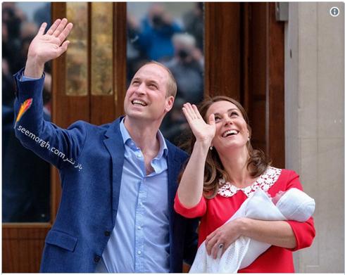فرزند سوم کیت میدلتون Kate Middleton و پرنس ویلیام William - عکس شماره 5