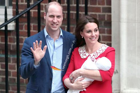 فرزند سوم کیت میدلتون Kate Middleton و پرنس ویلیام William - عکس شماره 4
