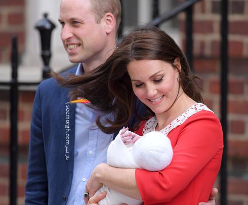 فرزند سوم کیت میدلتون Kate Middleton و پرنس ویلیام William - عکس شماره 3