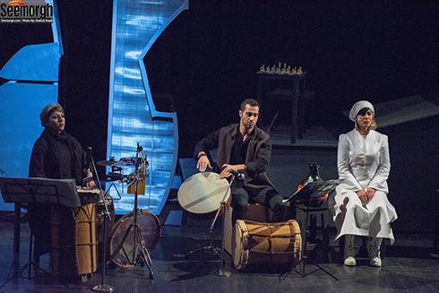 اجرای زیبای کنسرت تئاتر شطّ رنج