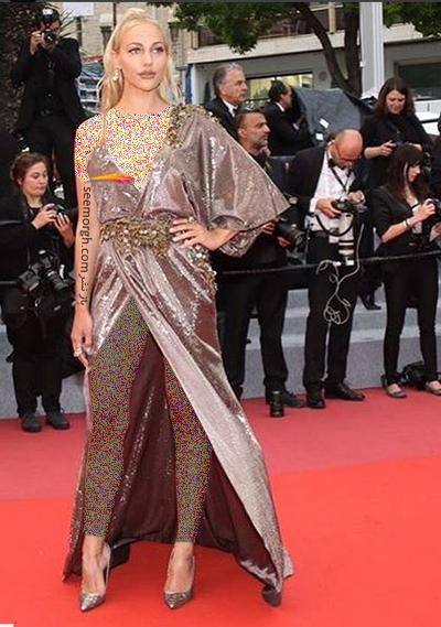 مدل لباس مريم اوزرلي Meryem Uzerli در جشنواره کن 2018 Cannes - عکس شماره 5