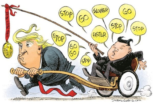 اون اینطوری سوار ترامپ شده