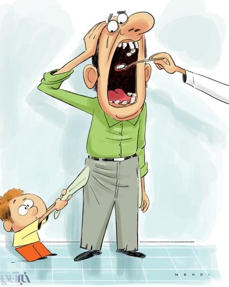 پوسیدگی دندان اکثر مردم ایران