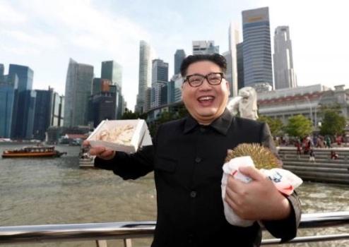 بدل کیم جونگ اون در سنگاپور