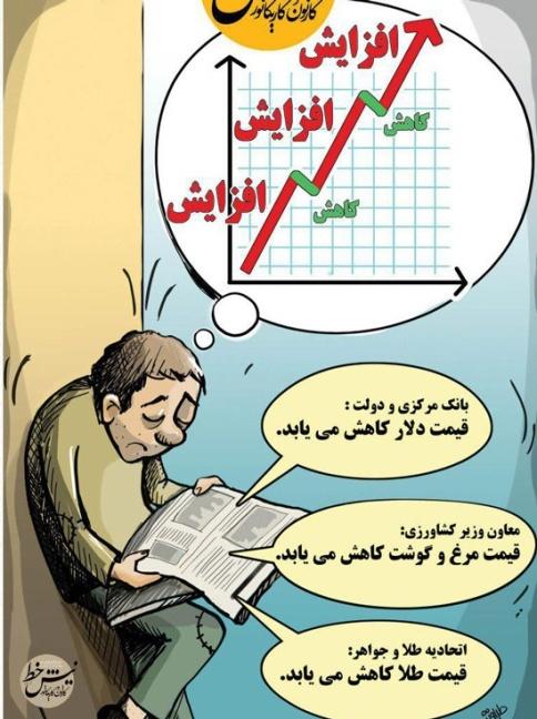 افزایش قیمت ها در بازار