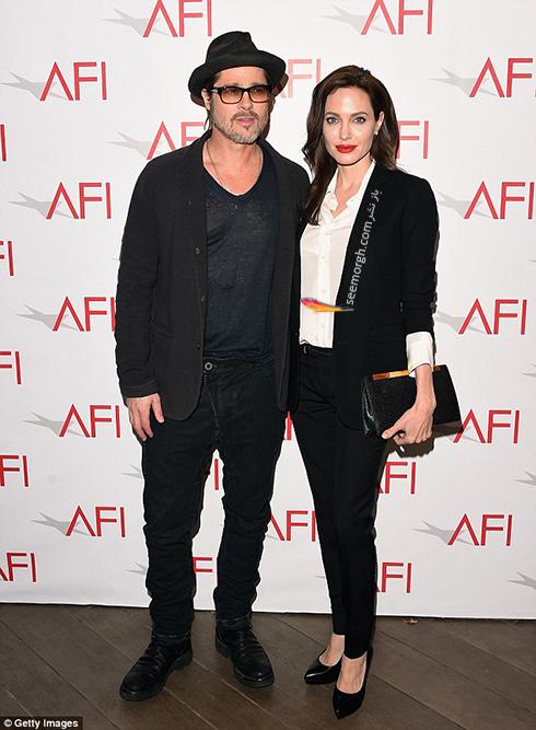 ست کردن کت و شلوار به سبک آنجلینا جولی Anjelina Jolie - مدل شماره 4