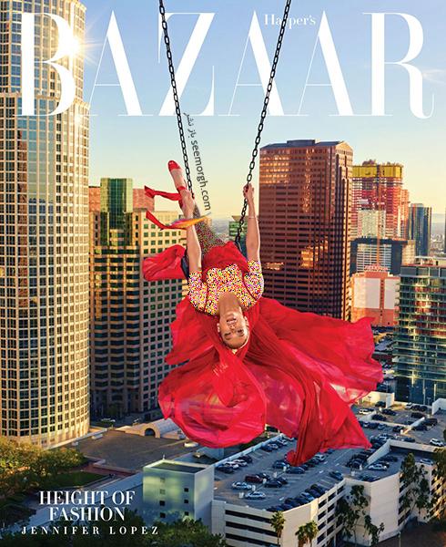 عکس های جدید جنیفر لوپز Jennifer Lopez روی مجله بازار HarpersBazaar - عکس شماره 7