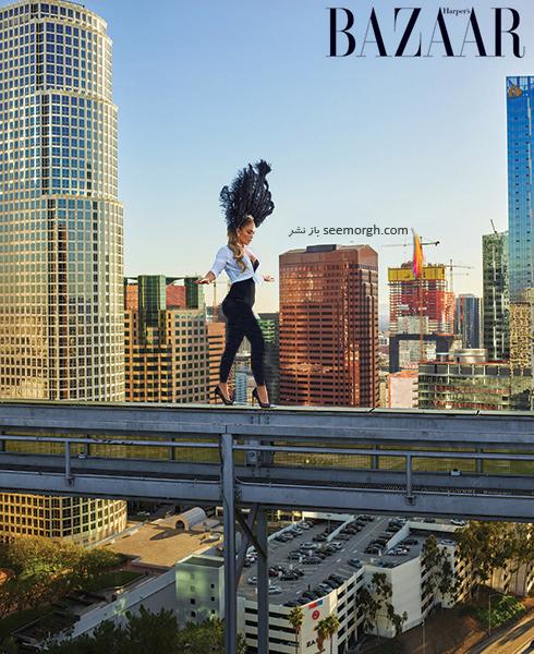 عکس های جدید جنیفر لوپز Jennifer Lopez روی مجله بازار HarpersBazaar - عکس شماره 2