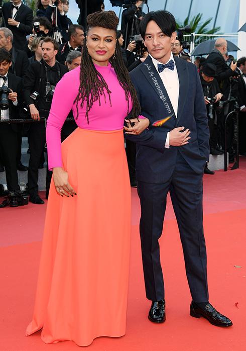 مدل لباس در هفتمین روز جشنواره کن 2018 Cannes - آوا دورنی Ava DuVernay