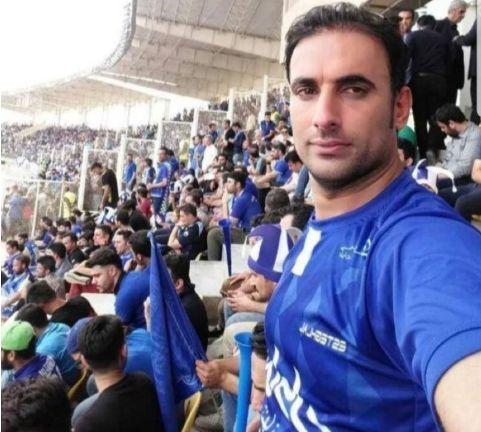 اسماعیل بهدارورند در ورزشگاه قبل از آسیب دیدن