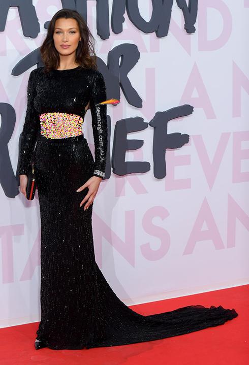 مدل لباس در ششمین روز جشنواره کن 2018 Cannes - بلا حدید Bella hadid
