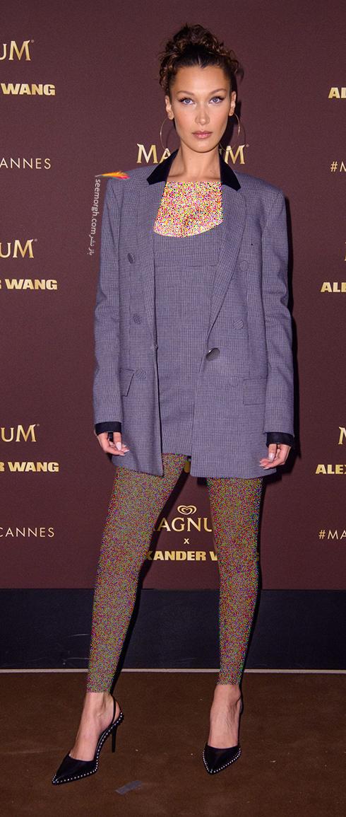 مدل لباس در روز چهارم جشنواره کن 2018 Cannes - بلا حدید Bella Hadid