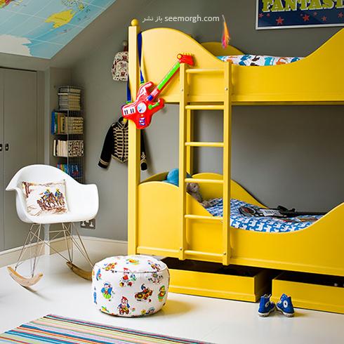 عکس اتاق خواب پسرانه شماره 12
