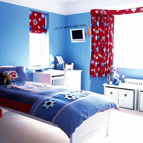 عکس اتاق خواب پسرانه شماره 7