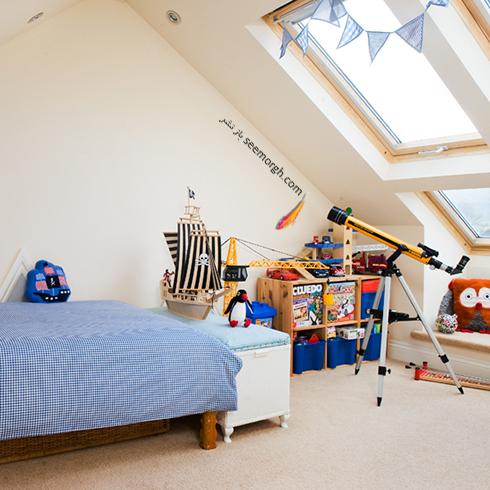 عکس اتاق خواب پسرانه شماره 11