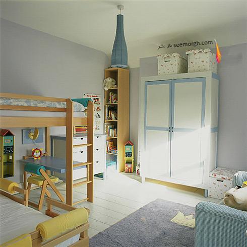 عکس اتاق خواب پسرانه شماره 10