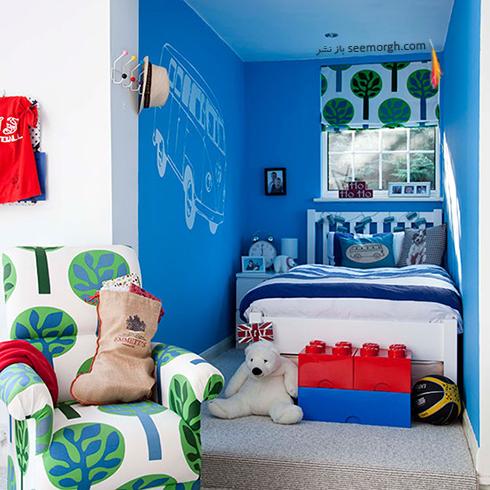 عکس اتاق خواب پسرانه شماره 9