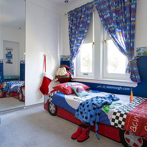 عکس اتاق خواب پسرانه شماره 8