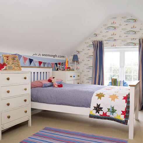 عکس اتاق خواب پسرانه شماره 6