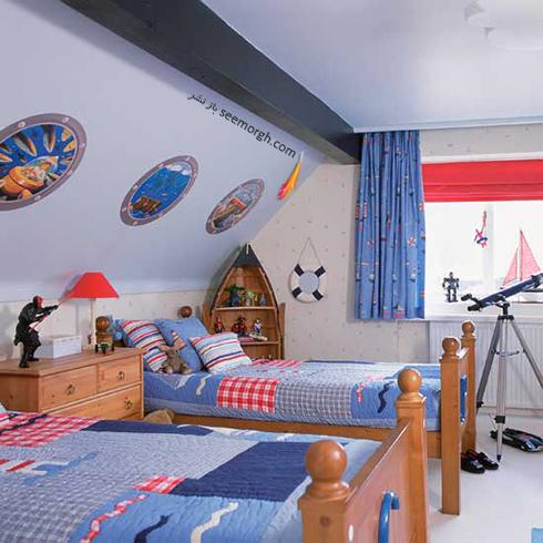 عکس اتاق خواب پسرانه شماره 4