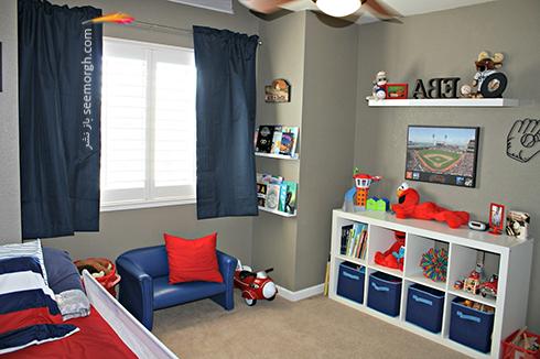 عکس اتاق خواب پسرانه شماره 2