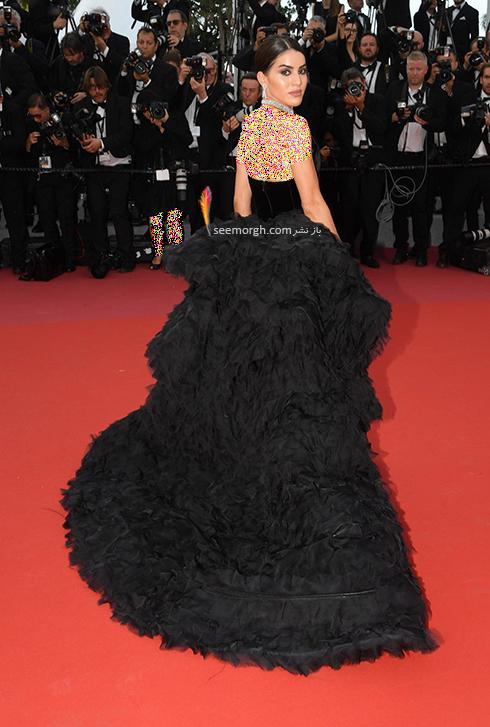 مدل لباس در افتتاحیه جشنواره کن 2018 Cannes - کاملیا کوالهو Camila Coelho