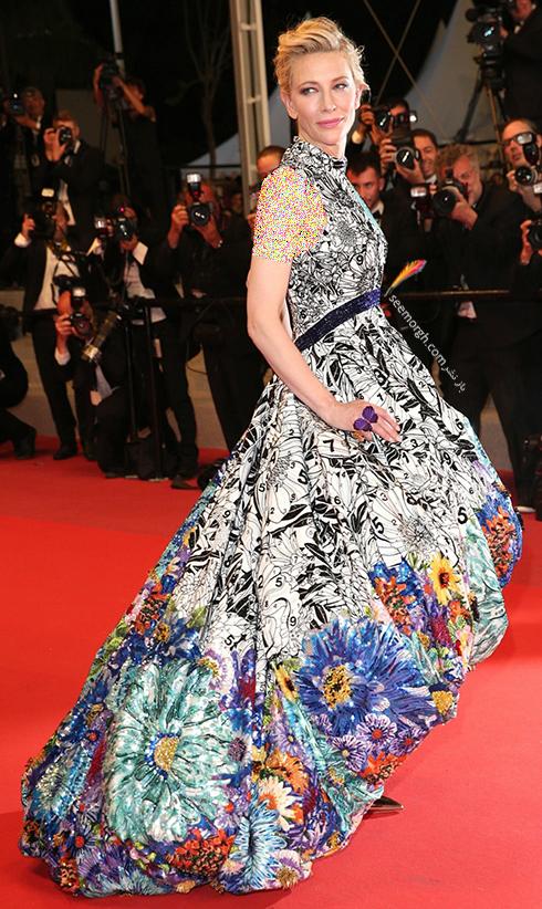 مدل لباس در روز چهارم جشنواره کن 2018 Cannes - کیت بلانشت Kate Blanchett