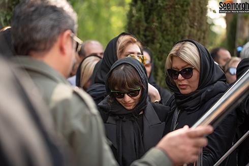 مراسم تشييع زنده ياد ناصر چشم آذر