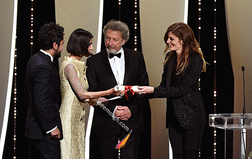 دریافت جایزه بهترین فیلمنامه جشنواره کن 2018