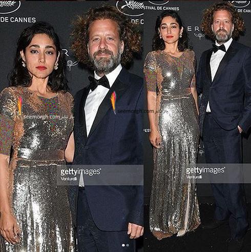 گلشیفته فراهانی و همسرش کریستوس دورج واکر در کن 2018 (1)