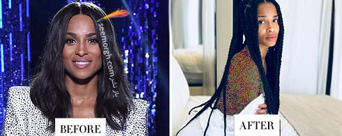 تغییر مدل مو سیارا Ciara برای سال 2018