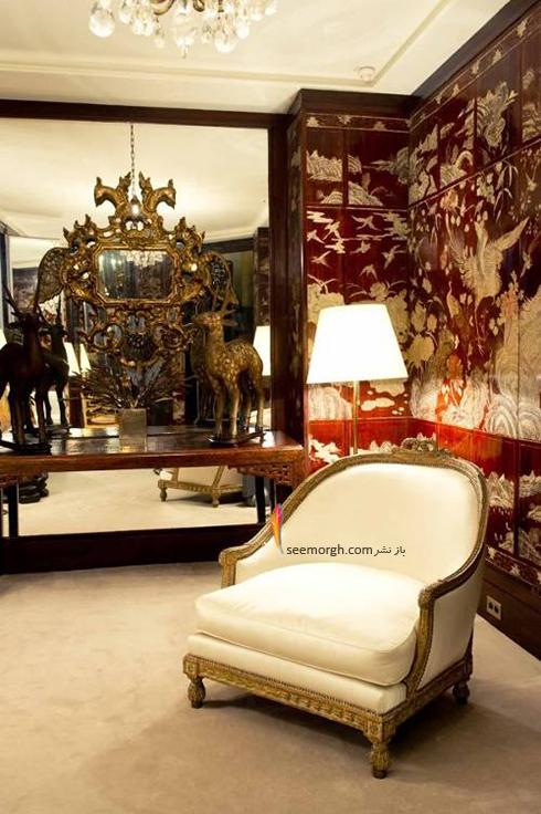 دکوراسیون داخلی آپارتمان گابریل کوکو شنل Gabrielle Coco Chanel - عکس شماره 7