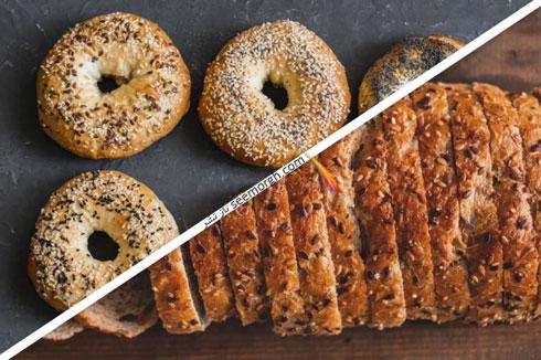 کاهش وزن فوق العاده با جایگزین کردن نان به جای شیرینی