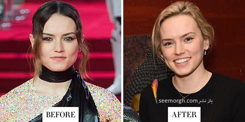تغییر مدل مو دیسی ریدلی Daisy Ridley برای سال 2018