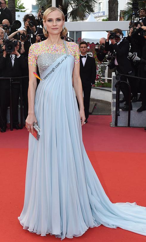 مدل لباس در ششمین روز جشنواره کن 2018 Cannes - دیانه کروگر Diane Kruger