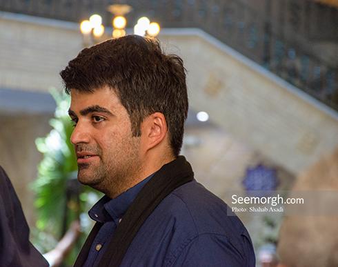 امیر ملک مطیعی در مراسم یادبود پدرش ناصر ملک مطیعی