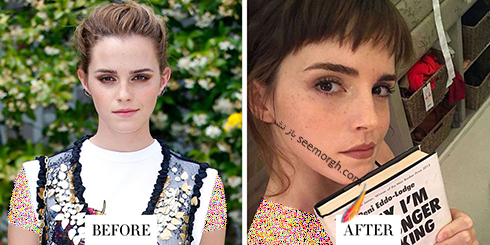 تغییر مدل مو اما واتسون Emma Watson برای سال 2018
