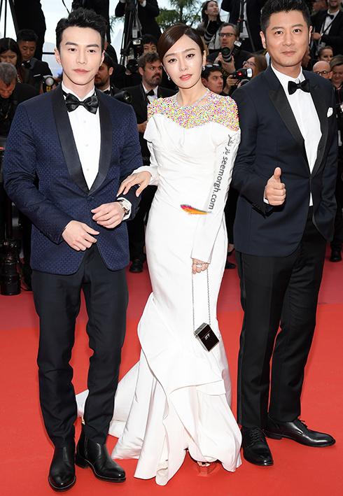 مدل لباس اریکا کاراتا Erika Karata در هشتمین روز جشنواره کن 2018 Cannes