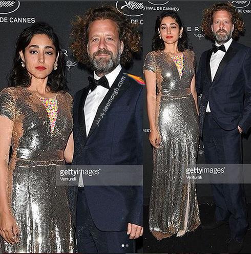مدل لباس گلشیفته فراهانی Golshifte Farahani در جشنواره کن 2018 Cannes