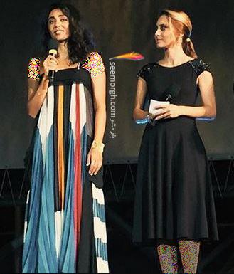 مدل لباس گلشیفته فراهانی Golshifte Farahani از برند کلوئه Chloe در جشنواره فيلم لوكارنو Locarno